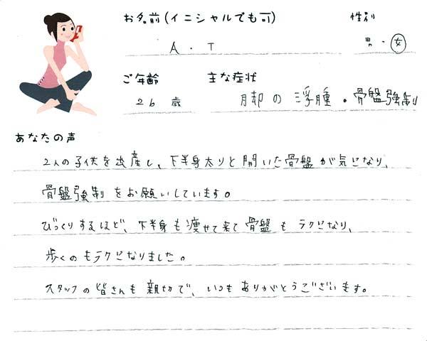 A.Tさん 26歳 女性