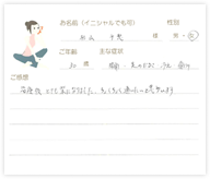 杉山 千恵さん 30歳 女性
